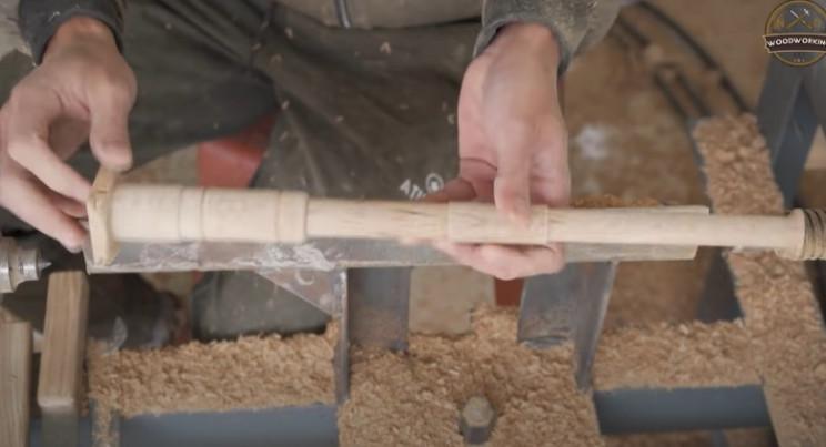 diy wooden rifle barrel complete