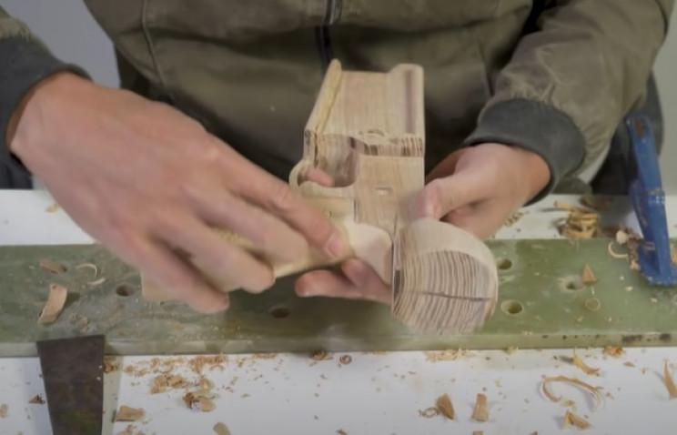 diy wooden rifle grip main