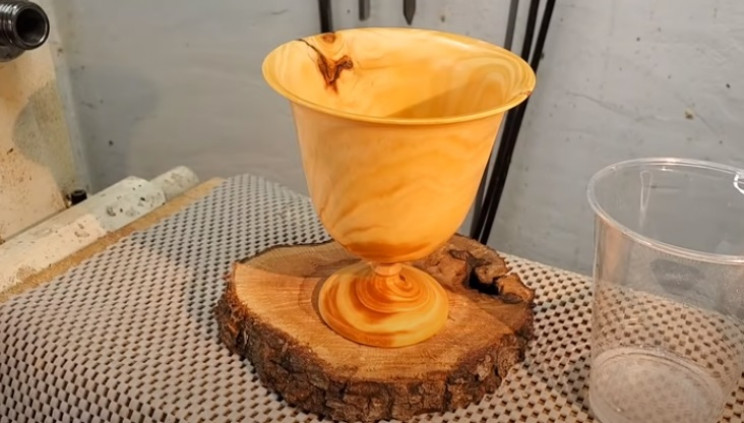 diy pinewood goblet complete
