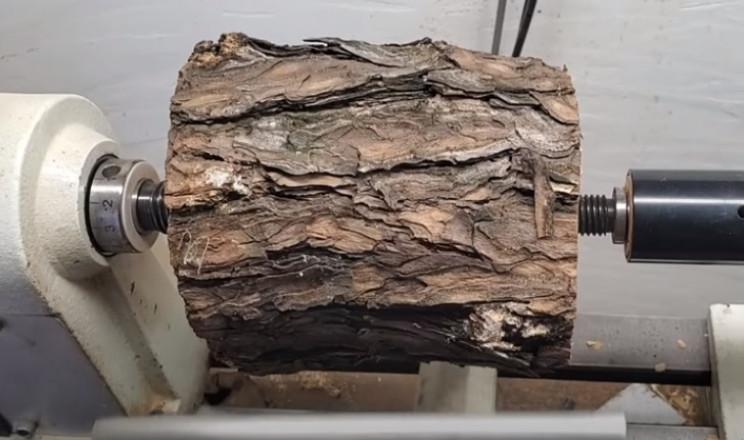 diy yamabiko goblet secure wood