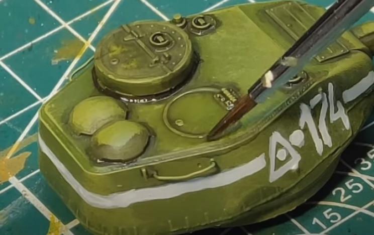 diy t-34 blend inks