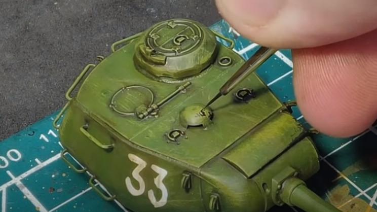diy t-34 damage