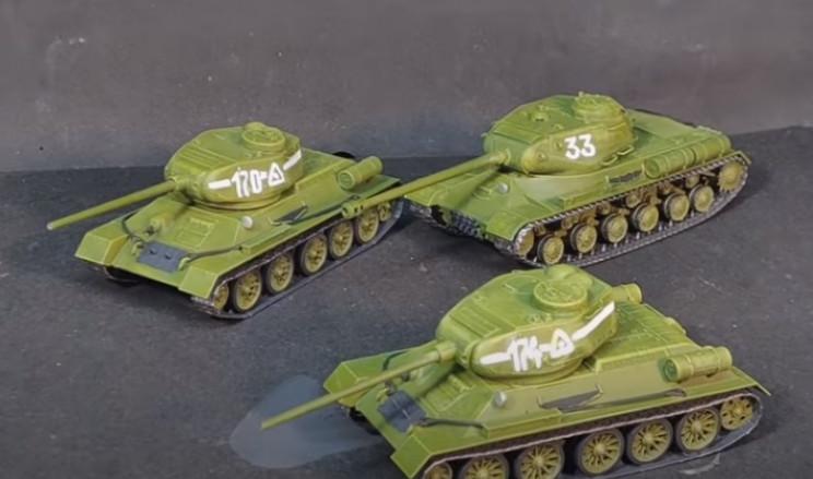 diy t-34 details