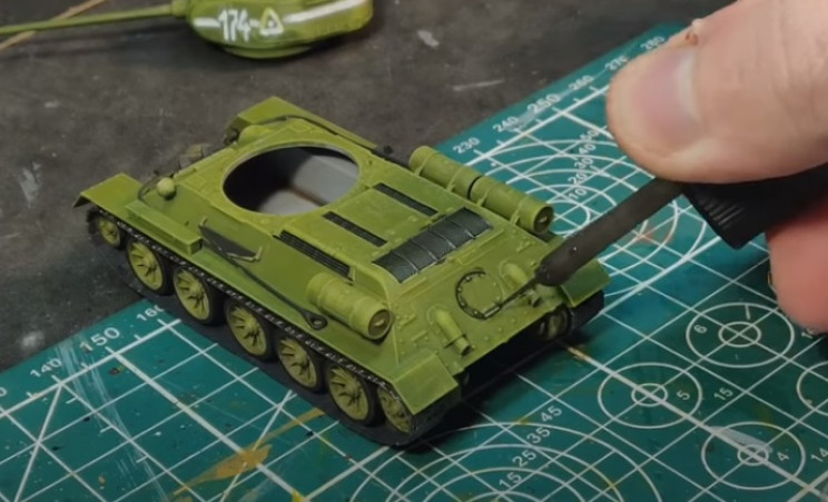 diy t-34 washes