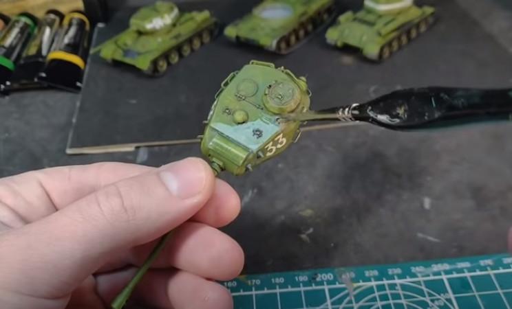 diy t-34 varnish