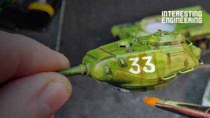 Painting a Model Tank in 9 Easy Steps