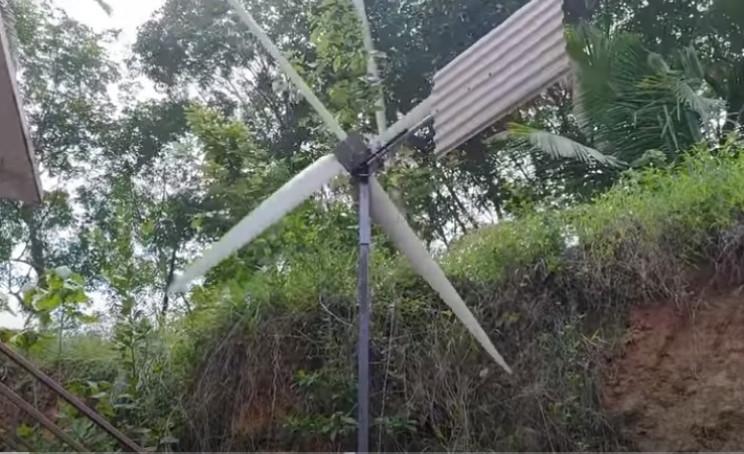 diy wind turbine complete