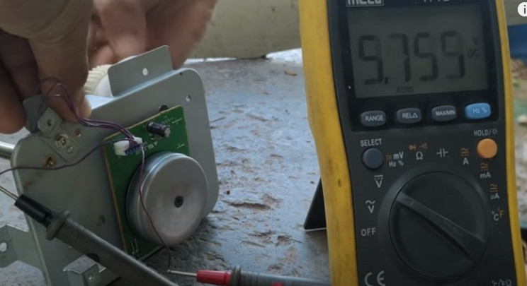 diy wind turbine test motor
