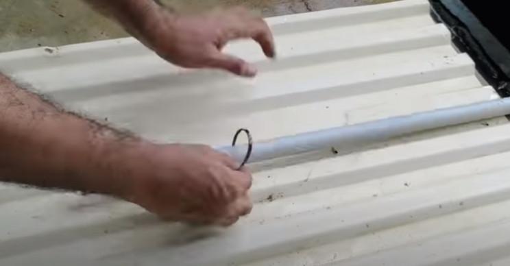 diy wind turbine rudder support