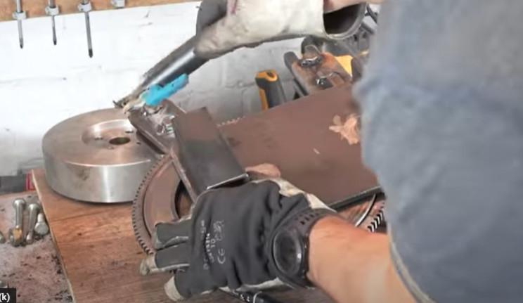 diy metal bending machine feet