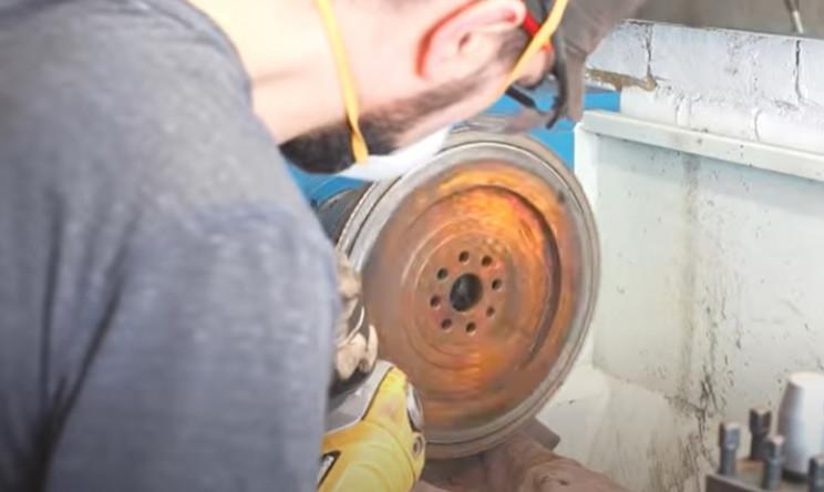 diy metal bender clean metal