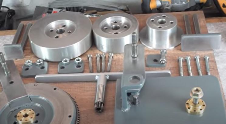 diy metal bending machine parts