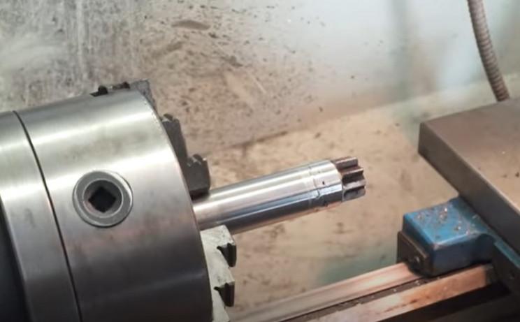 diy metal bender fuse shaft and gear