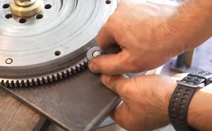 diy metal bender gears engaged