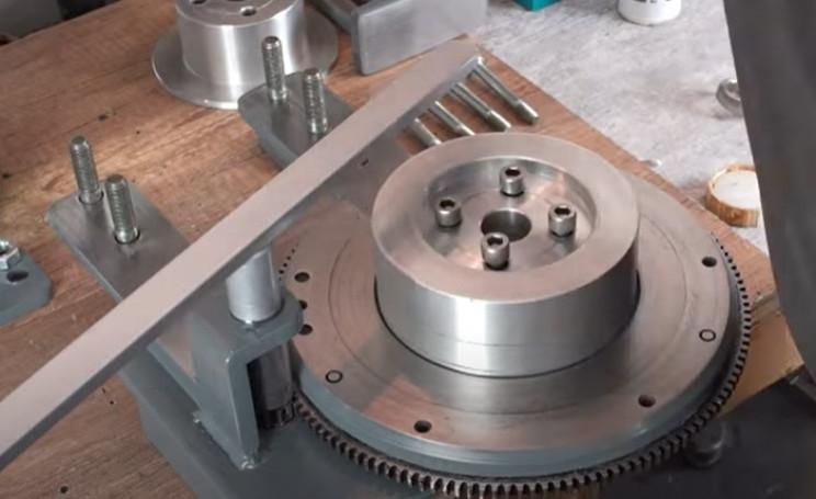 diy metal bending machine central hub