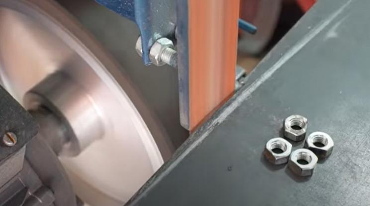 diy pipe bender refine nuts