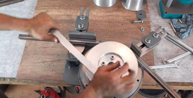diy bending machine test
