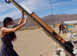 Engineer Builds High-Power Wooden Rocket in Just 5 Days