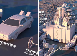 Video Shows the Sizes of Fictional Land Vehicles in Popular Culture