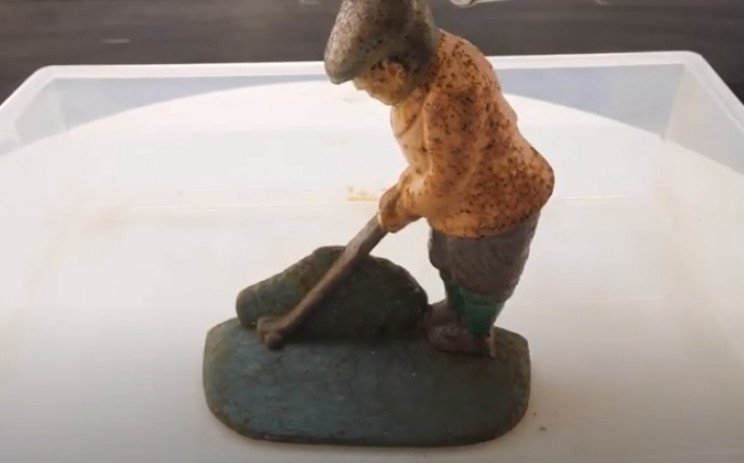 diy vintage golfer restore original