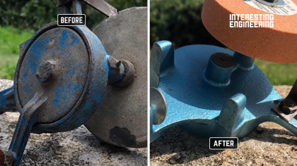 How to Restore an Old Hand-Cranked Grinder