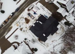 Watch Tesla Solar Roof Performing During a Snowstorm