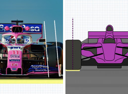 YouTuber Explains the Engineering behind Tire Camber Angle in F1 Cars