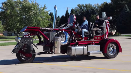 Meet Tower Trike: The Largest Motorcycle in the World
