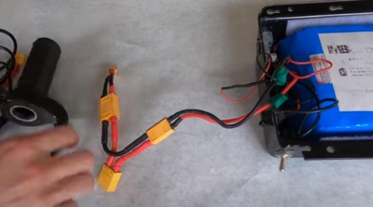 diy mini e bike loop key