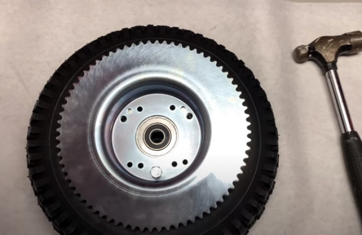 diy mini elec bike drive wheel