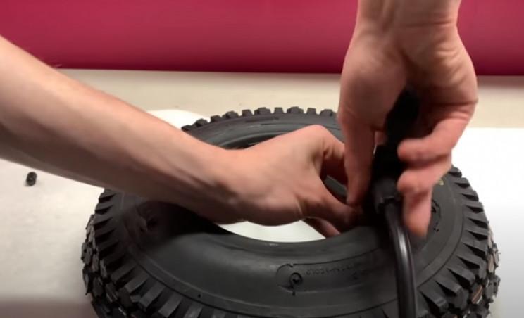 diy elec mini bike tires