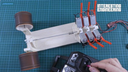 Making a Powerful V6 Motor Using Mini DC Motors