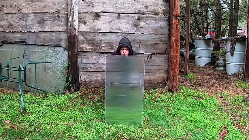 Guy Builds a Real Invisibility Shield, It's Surprisingly Easy to Do