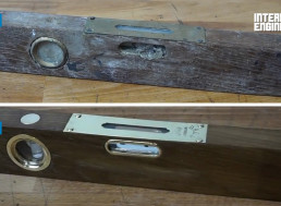 How to Fully Restore an Antique Wooden Level in 6 Easy Steps