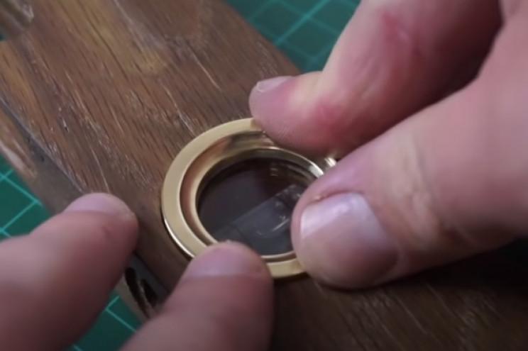 restore spirit level glass and brass