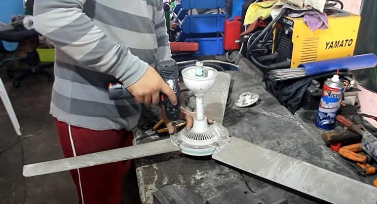 washing machine to fan old fan