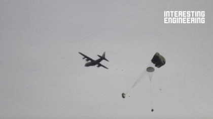 How Massive Humvees Are Airdropped From the Sky