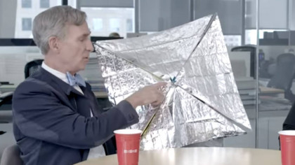 Bill Nye Explains the Science Behind The Solar Sails That Could Revolutionize Space Travel