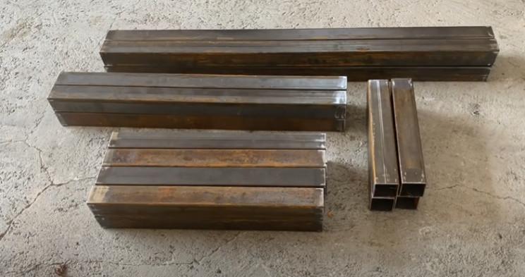 diy workbench cut tubing