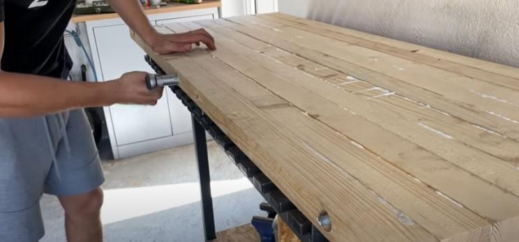 diy workbench tabletop