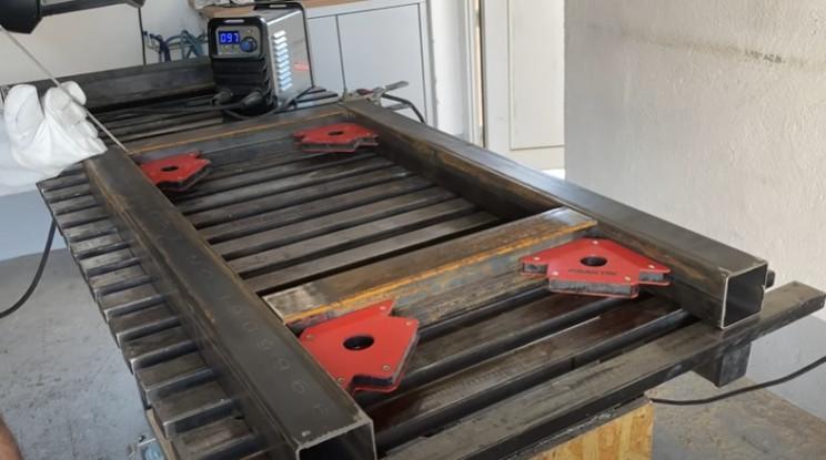 diy workbench weld