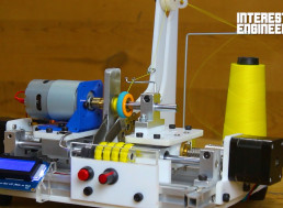 How to Build Your Own Arduino-Based Bobbin Winding Machine