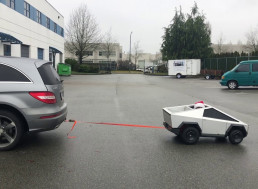 Miniature Cybertruck Pulls Mercedes Benz, Still Not Impressed?