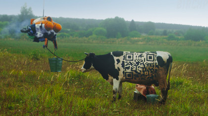 Trippy Cyberpunk Short Shows Russian Farm Life with a Twist