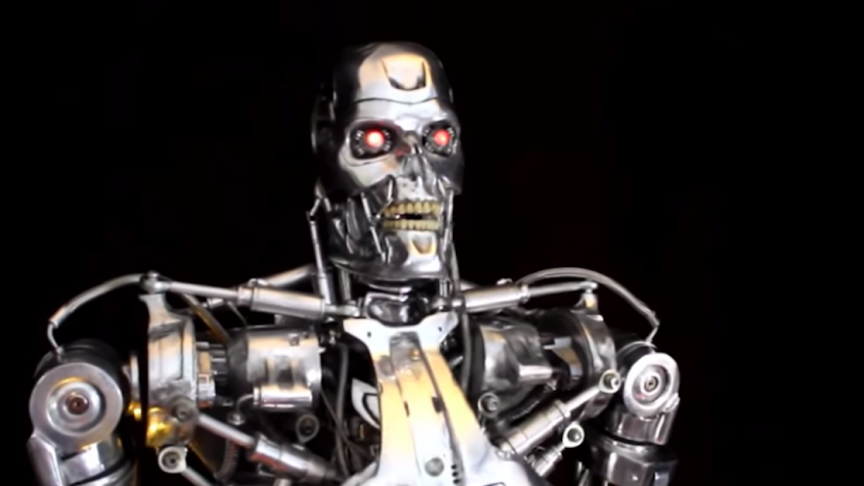 All-Metal Full-Scale T-800 Ter...