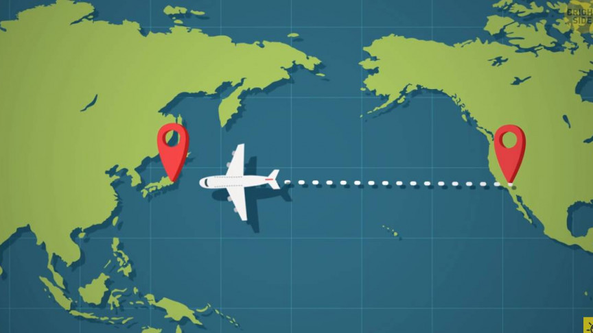 This Video Explains the Reason Why Planes Avoid Flying Over the Pacific Ocean