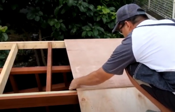 diy garden shed roofing sheets
