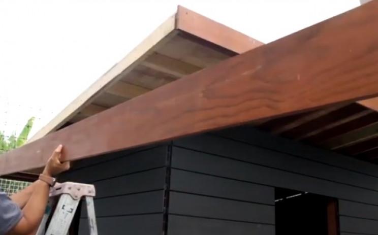 diy garden shed roof fascias
