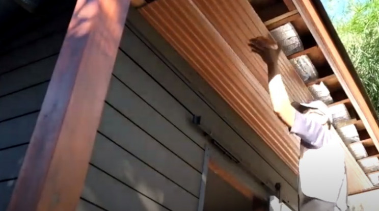 diy garden shed soffits