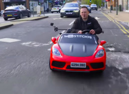 Watch This Road-Legal Power Wheels Taken on a Ride Across the UK